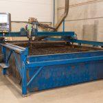 Simetek CNC-ohjattu poltto-plasmaleikkuri