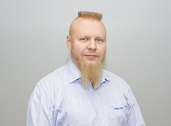 Simetek Works Oy Jukka Holopainen, vanhempi suunnittelija, mekaniikkasuunnittelu